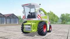 Claas Jaguar 880 with cutter Orbis 750 for Farming Simulator 2017