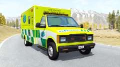Gavril H-Series Ambulance New Zealand v0.3.2 for BeamNG Drive