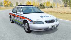 Ibishu Pessima British Police v0.4 for BeamNG Drive