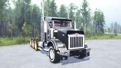 Kenworth T800 four-axle 2005 v2.0 for MudRunner