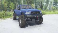 Ford Ranger XLT FX4 Extended Cab 2003 lifted for MudRunner