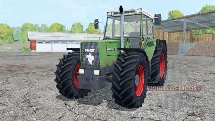 Fendt Favorit 611 LSA Turbomatik loader mounting for Farming Simulator 2015
