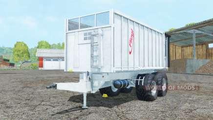 Fliegl TMK 266 Bull new tires for Farming Simulator 2015