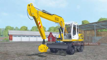 Liebherr A 900 Compact Litronic forest for Farming Simulator 2015