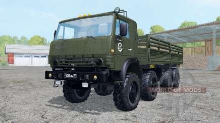 KamAZ-6350 for Farming Simulator 2015