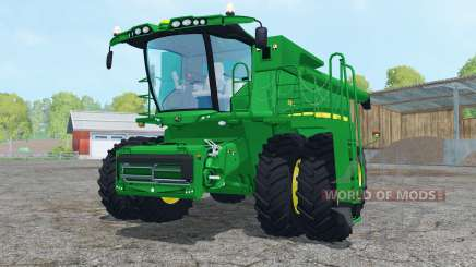 John Deere S680 dual front wheels for Farming Simulator 2015