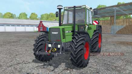 Fendt Favorit 615 LSA Turbomatik working mirrors for Farming Simulator 2015
