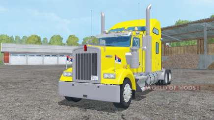 Kenworth W900L Sleeper Cab 2005 for Farming Simulator 2015