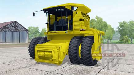 New Holland TR99 dual front wheels for Farming Simulator 2017