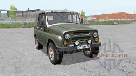 UAZ-469 for Farming Simulator 2017