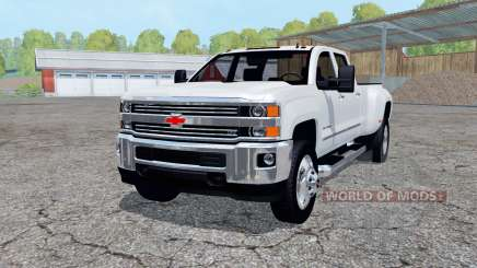 Chevrolet Silverado 3500 HD Crew Cab 2016 for Farming Simulator 2015