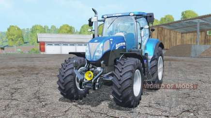 New Holland T7.185 BluePower for Farming Simulator 2015