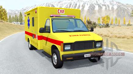 Gavril H-Series Belgian EMS for BeamNG Drive