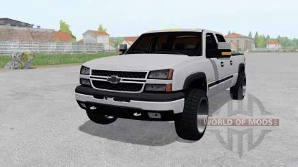 Chevrolet Silverado 2500 HD Crew Cab 2002 for Farming Simulator 2017