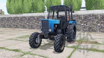 MTZ 82 Belarus interactive control for Farming Simulator 2017