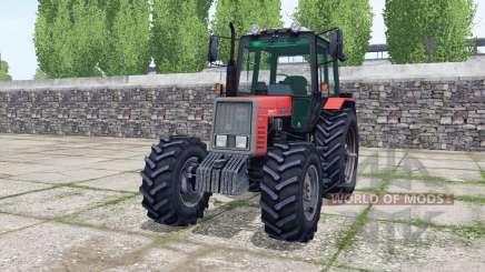MTZ Belarus 820 dual rear wheels for Farming Simulator 2017