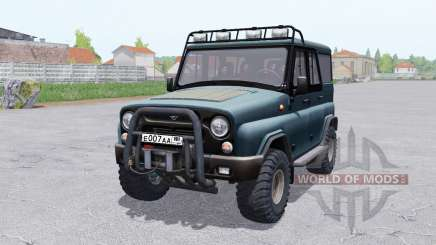 UAZ 315195 hunter for Farming Simulator 2017