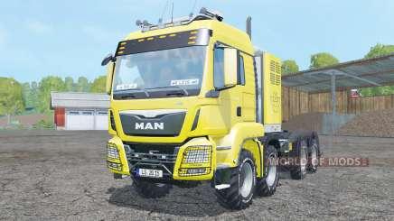 MAN TGS 8x8 tractor for Farming Simulator 2015