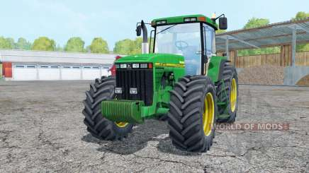 John Deere 8400 interactive control for Farming Simulator 2015