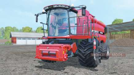 Case IH Axial-Flow 7130 increased steering angle for Farming Simulator 2015