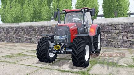 Case IH Puma 165 CVX design selection for Farming Simulator 2017