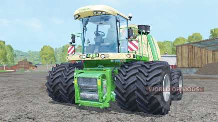 Krone BiG X 1100 double wheels for Farming Simulator 2015
