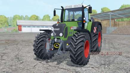 Fendt 820 Vario TMS with weight for Farming Simulator 2015
