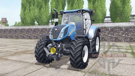 New Holland T6.160 wheels selection for Farming Simulator 2017
