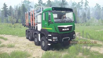 MAN TGS 41.480 8x8 for MudRunner