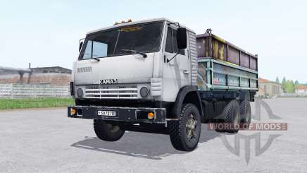 KamAZ 5320 with a trailer GKB 8551 for Farming Simulator 2017