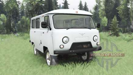 UAZ 452 4x4 1978 for Spin Tires