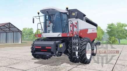 Acros 595 Plus a choice of configurations for Farming Simulator 2017