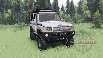 Toyota Land Cruiser 70 (J76) 2007 ICRC for Spin Tires