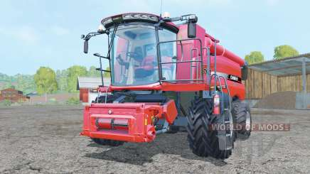 Case IH Axial-Flow 7130 dual front wheels for Farming Simulator 2015