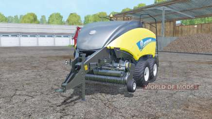 New Holland BigBaler 1290 wet balᶒ for Farming Simulator 2015