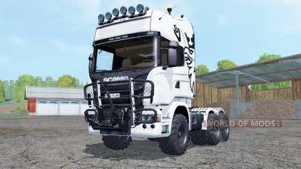 Scania R730 V8 Topline agrotruck for Farming Simulator 2015