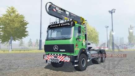 Mercedes-Benz 2631 S timber loader v2.0 for Farming Simulator 2013