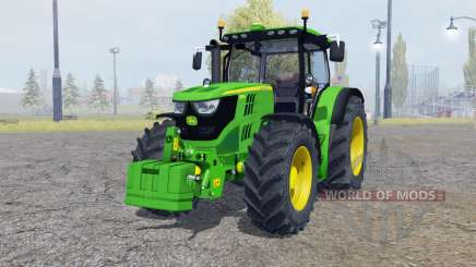 John Deere 6150R with weight for Farming Simulator 2013