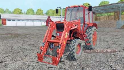 Belarus MTZ 82 front loader for Farming Simulator 2015