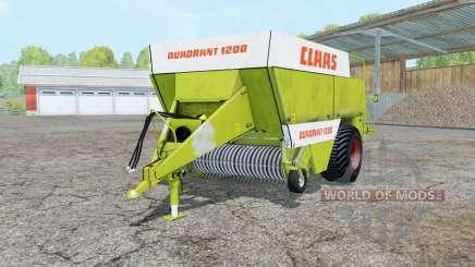 Claas Quadrant 1200 for Farming Simulator 2015