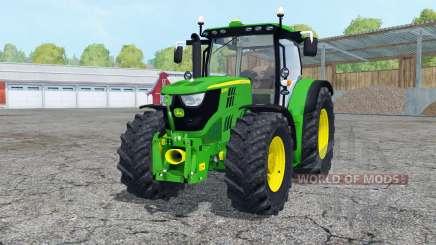 John Deere 6170R front loadeᶉ for Farming Simulator 2015