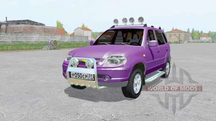 Chevrolet Niva for Farming Simulator 2017
