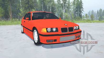 BMW M3 Coupe (E36) 1994 for MudRunner