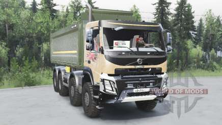 Volvo FMX 8x8 2014 for Spin Tires