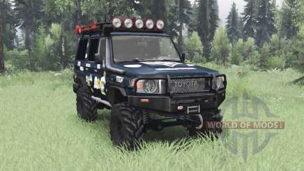 Toyota Land Cruiser 70 (J76) 2007 Expedition for Spin Tires