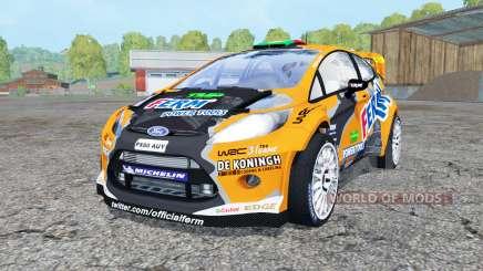 Ford Fiesta S2000 for Farming Simulator 2015