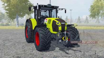 Claas Arion 620 twin wheels for Farming Simulator 2013