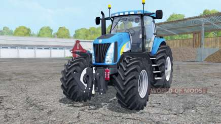 New Holland TG285 with weight for Farming Simulator 2015