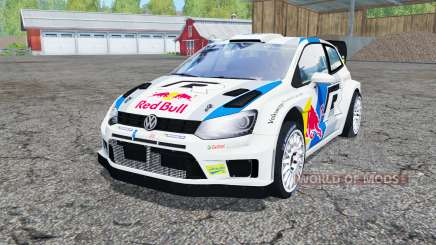 Volkswagen Polo R WRC (Typ 6R) 2013 for Farming Simulator 2015
