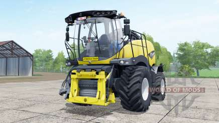 New Holland FR850 manual pipᶒ for Farming Simulator 2017